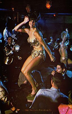 Burlesque striptease 60s bikini Go-Go Dancer, 1966 ;)
