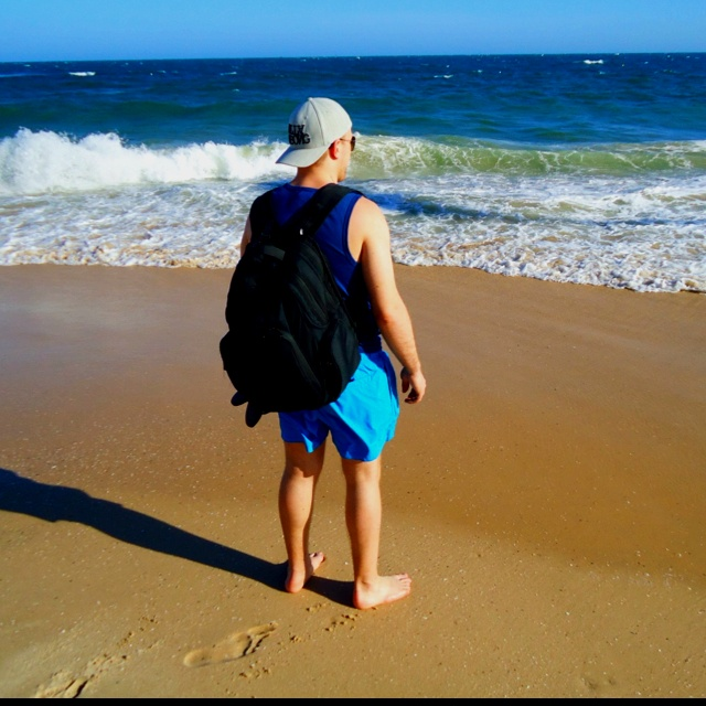 Me and the ocean in Phan Thiet!