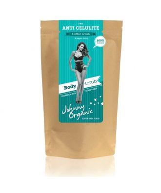 ANTI CELULITE Kávový tělový peeling Johnny Organic