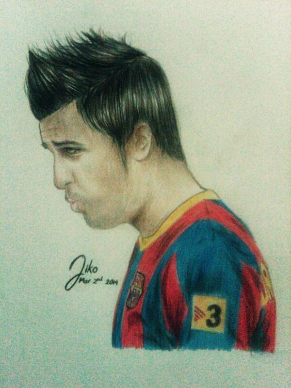 FCBarcelona's David Villa