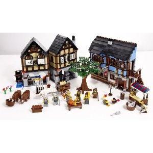 Lego Medieval Market Village. $99.99