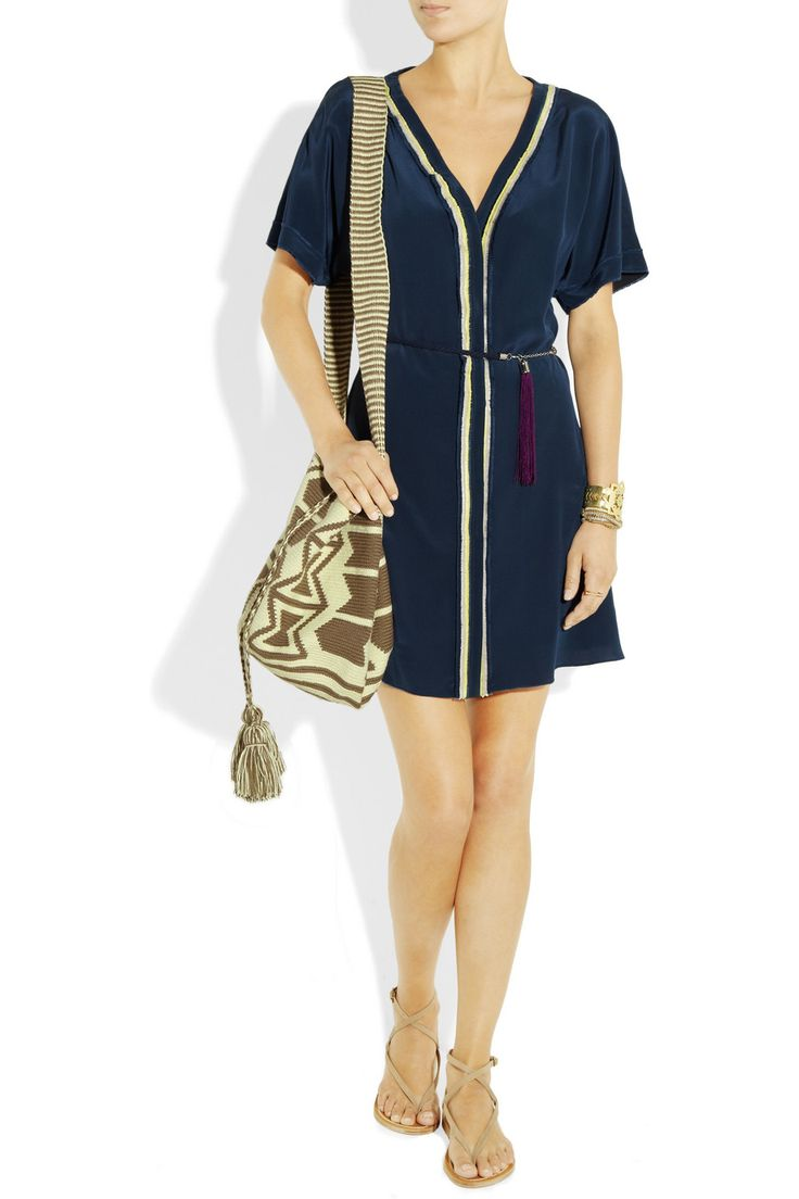 Wayuu Taya Mochilla hand-woven cotton shoulder bag NET-A-PORTER.COM