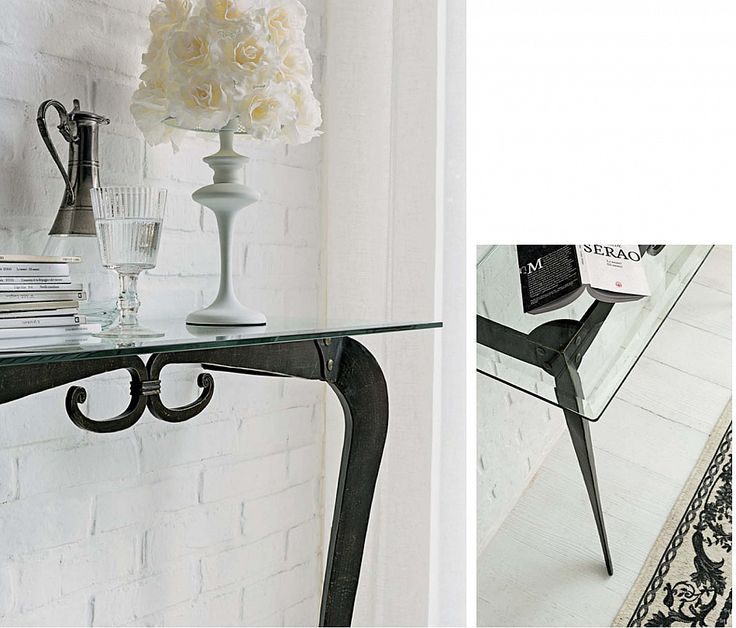 Classic wrought iron console table Deco by Target Point