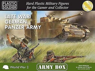 15mm 158728: Plastic Soldier Company 15Mm Late War German Panzer Army Pscab15001 Free Ship -> BUY IT NOW ONLY: $84.96 on eBay!