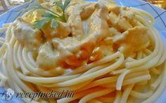 Fokhagymás tejszínes csirkeragu recept fotóval