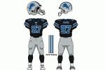 Detroit Lions alternate uniform 2005 - 2008.