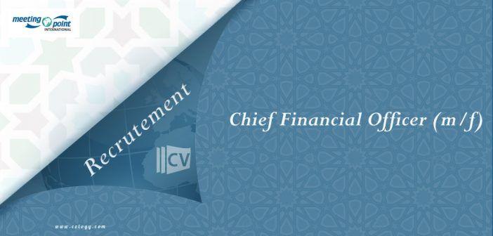 #Meeting #Point #International: #Emploi de #Chief #Financial #Officer (m/f) à #Marrakech