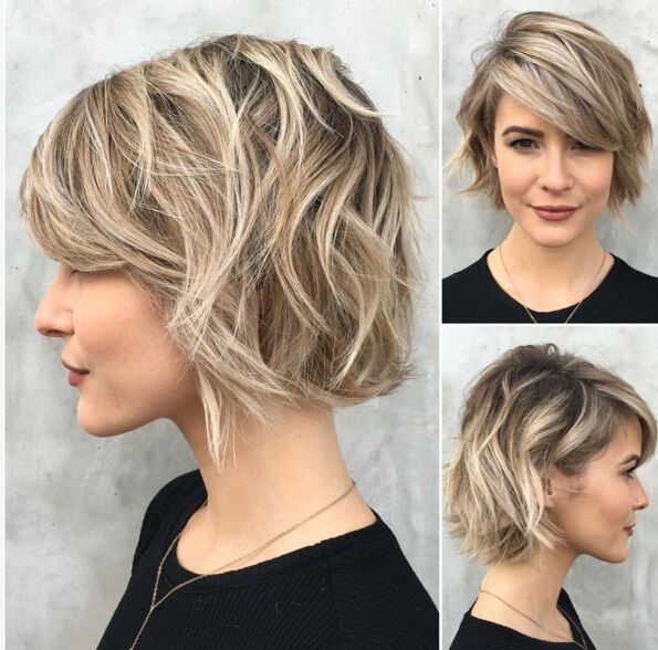 Messy Short Hairstyle 2016