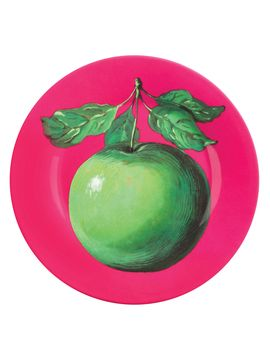 Magritte Apple Plate from A Fete of Plates: Dinnerware & More on Gilt