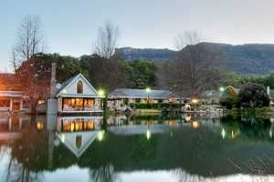 On the waters edge- The Cleopatra Mountain Farmhouse. Quote and book http://www.south-african-hotels.com/hotels/cleopatra-mountain-farmhouse/