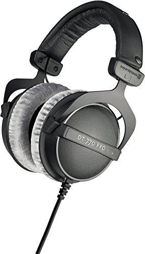 Beyerdynamic DT-770-PRO-32 Closed Dynamic Headphone for Mobile Control and Monitoring Applications, 32 Ohms by beyerdynamic