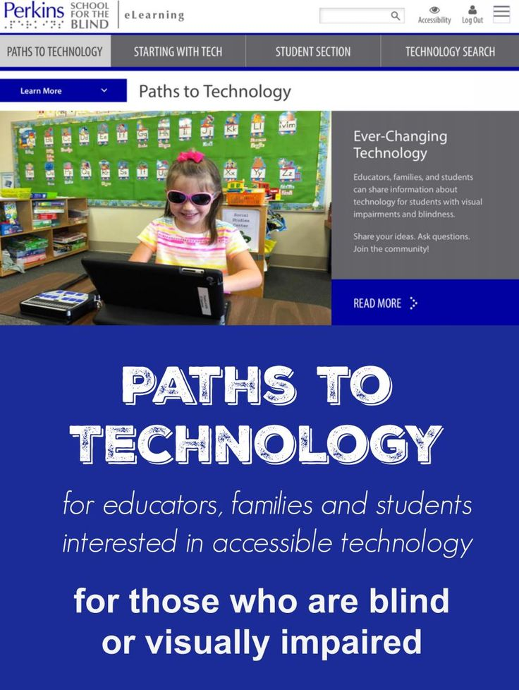 Getting Started with Technology girl using iPad with enlarged screen while writing on paperWhat does it take for students with a visual impairment or blindness (VIB) to succeed in a digital classroom? How should students be evaluated for a particular device? How do you get started with a new device? Start here to find out! Get Started now at http://www.perkinselearning.org/technology/getting-started
