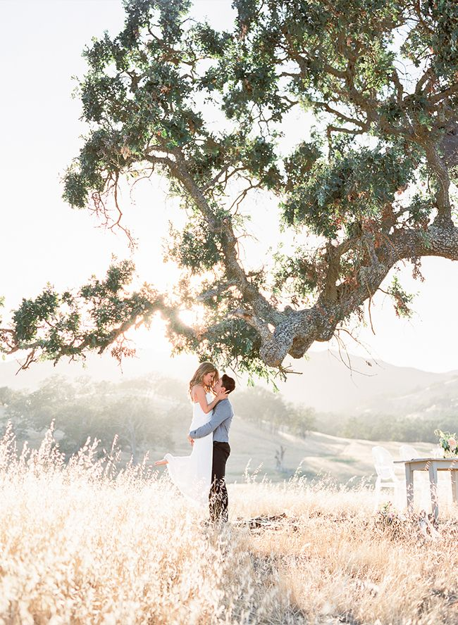 Picnic Engagement Shoot in Santa Margarita - Inspired By This