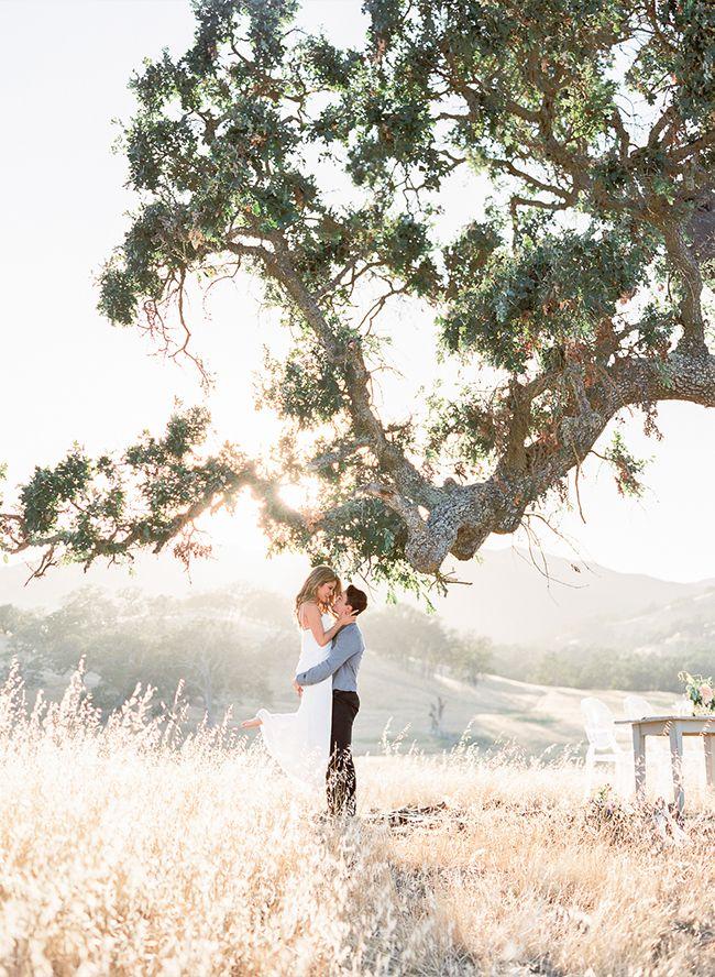 Picnic Engagement Shoot in Santa Margarita - Inspired By This
