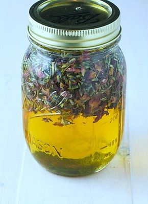 Lavender Rose Infused Honey - FoodBabbles.com