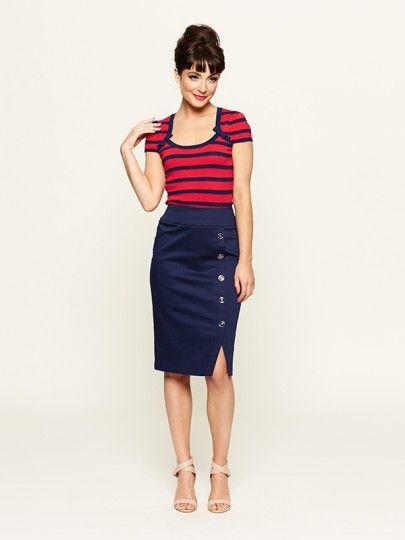 The Petrina Top & Carrington Skirt