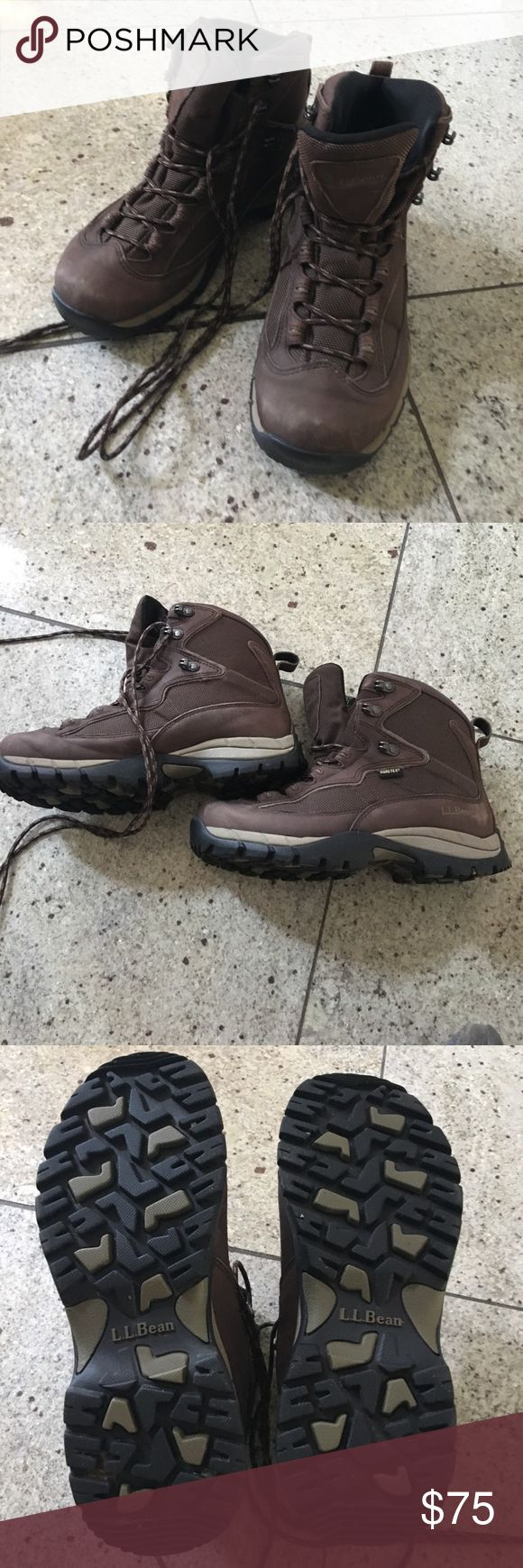 LL Bean hiking boots.. like new! Bought in the LL Bean store in Maine to go hiking and never worn again. Like new. Size 7 1/2 LL Bean Shoes Winter & Rain Boots