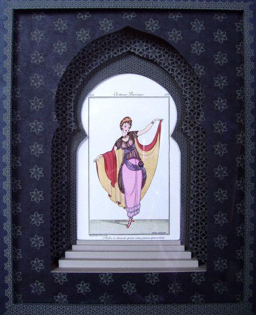 17 best images about encadrement on pinterest baroque art deco cards and m - Technique d encadrement ...