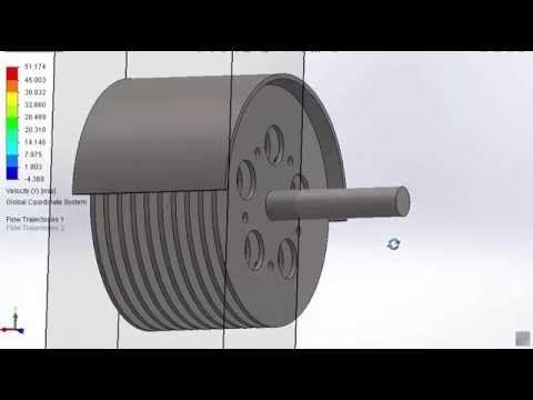 Simulacion de Turbina de Tesla