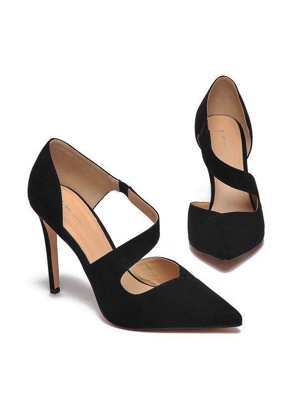 Buty Damskie Czarne Sbu0637 Szpilki Top Secret Odziezowy Sklep Internetowy Top Secret Heels Shoes Kitten Heels