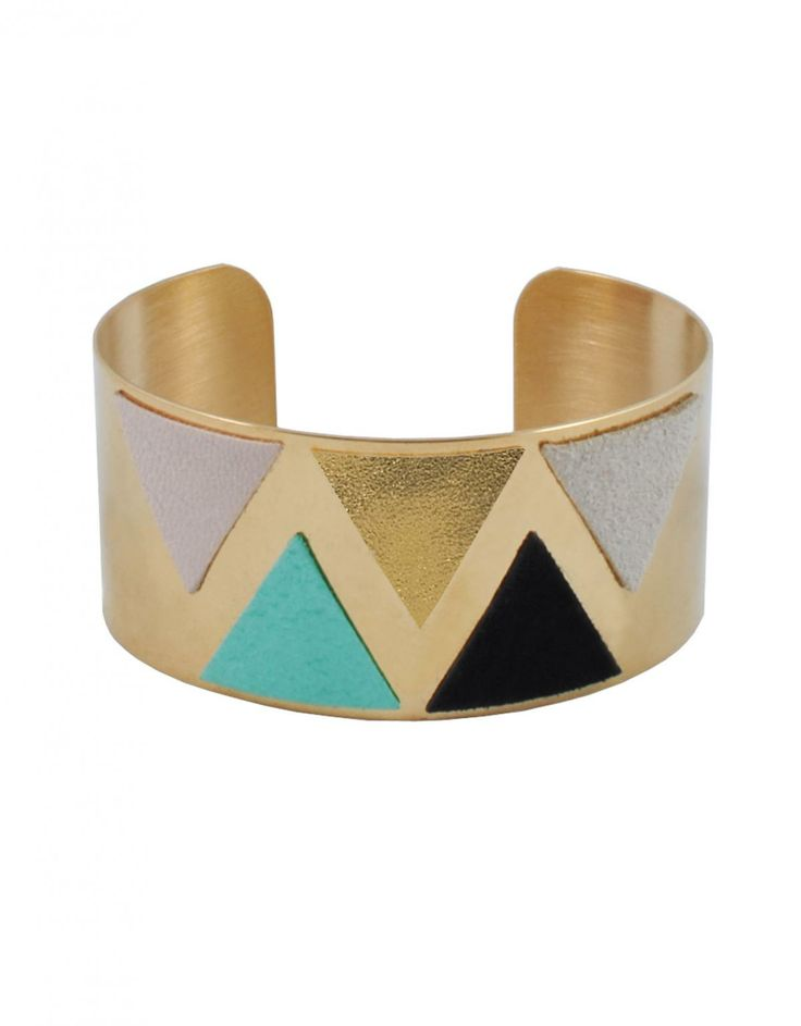 Metallic cuff - Chica Size:One size,One Size