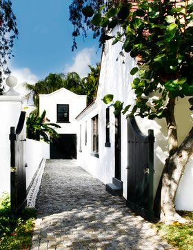 Cape Dutch House - mediterranean - exterior - miami - CURE & PENABAD Architecture and Urban Design