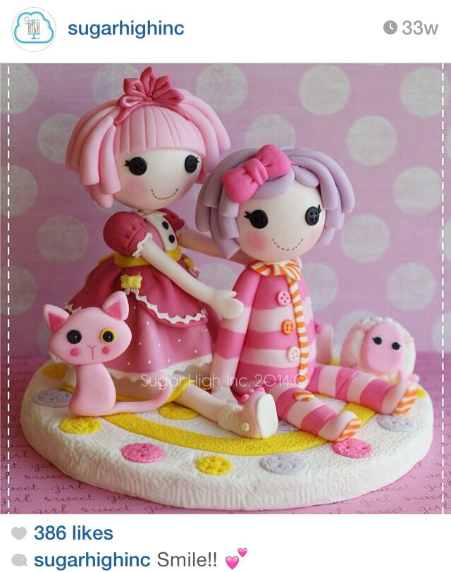 Lalaloopsy Birthday Cakes Pinterest