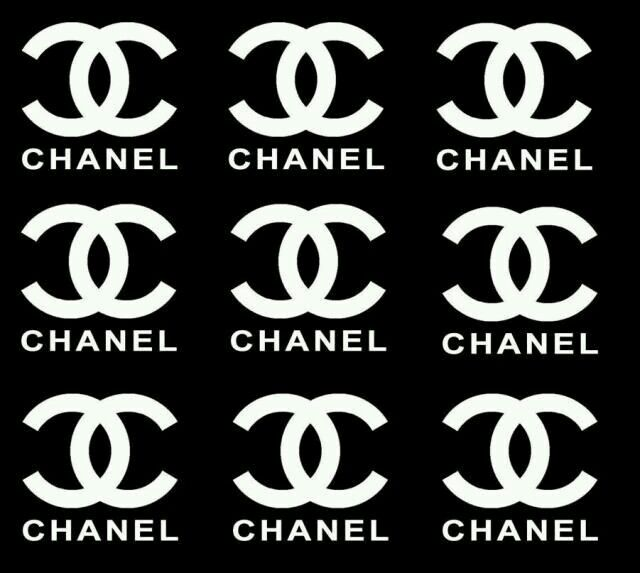 Refreshing image with regard to free printable chanel logo