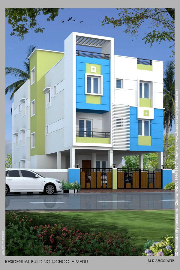 Exterior By Sagar Morkhade Vdraw Architecture 8793196382: House Styles, Building, Mansions