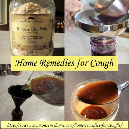 Home Remedies for Coughs:  Pour some honey in a small container ( I used an 8 ounce mason jar) and mix in some cinnamon to taste. Take one spoonful as needed to quiet cough. Both cinnamon and honey are anti-bacterial and anti-viral, and the honey coats and soothes the throat. (Bottom right image in photo.)