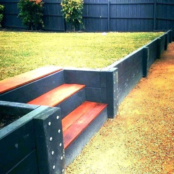 30+ Retaining Wall Ideas hillside DIY cheap