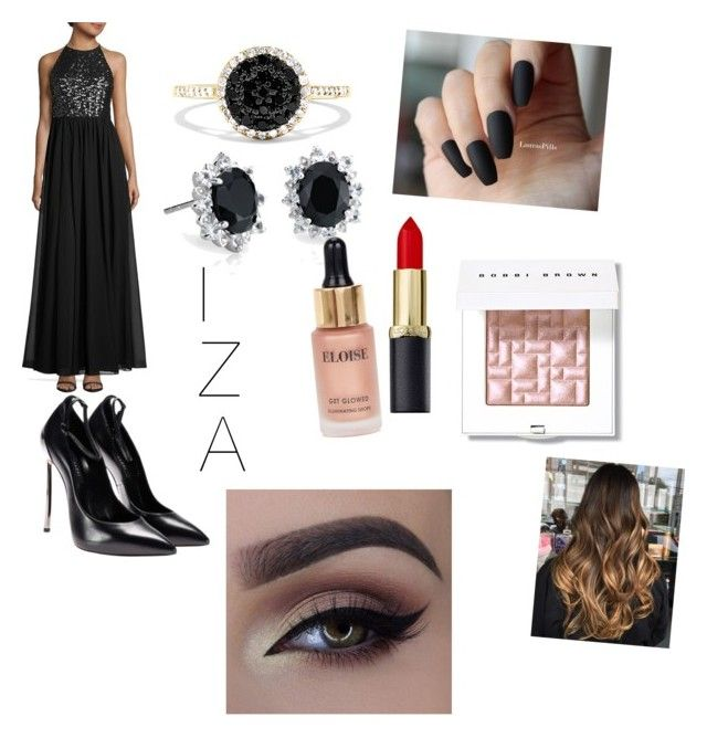 """""""Untitled #37"""" by jade2006 on Polyvore featuring Vera Wang, Effy Jewelry, Blue Nile, Bobbi Brown Cosmetics and Eloise"""