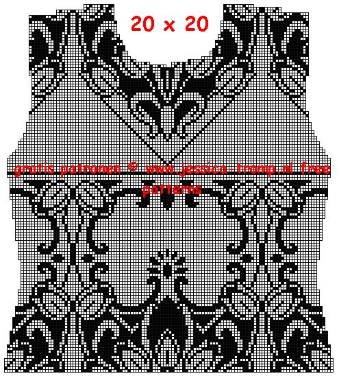 filet crochet patterns for women