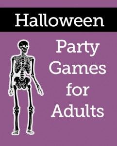 Lots of fun ideas for Halloween party games!