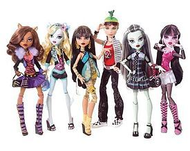 Monster High - the daughters of legendary monsters