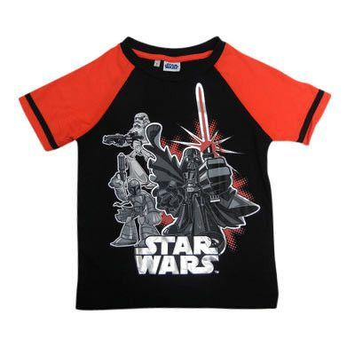 Boy's Darth Vader Star Wars T-Shirt