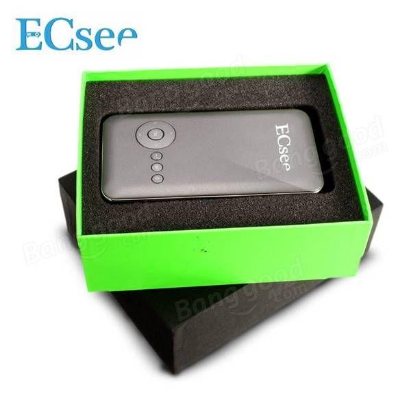 ECsee M6 WIFI DLP Android 4.4 1080P HD USB Mini Household LED Projector Sale - Banggood.com