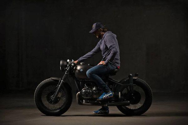 BMW R80 Bobber. Da ER Motorcycles #moto #motorcycle #bobber #motor #vintage #fast