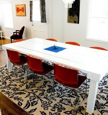 how to build a dining room table from reclaimed wood