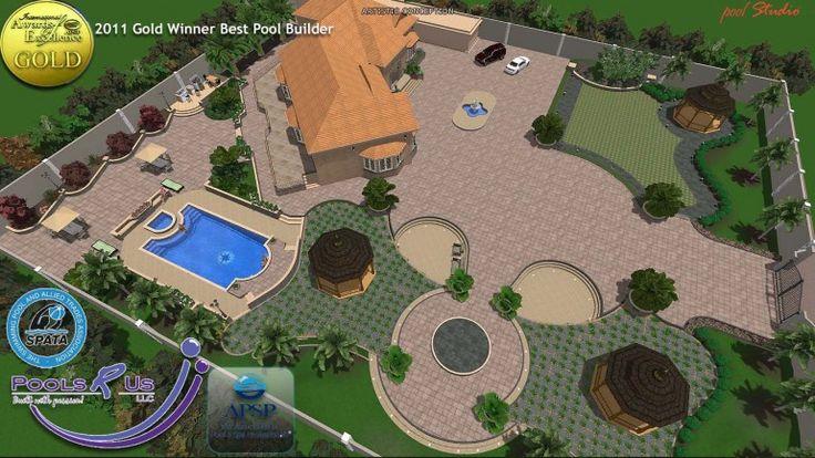 Pool Landscape Design 8 Landscape Design Software