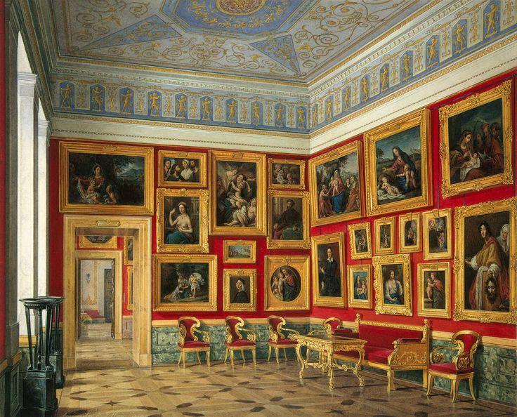 Eduard Hau - The Study of Italian Art, 1859 - Russia