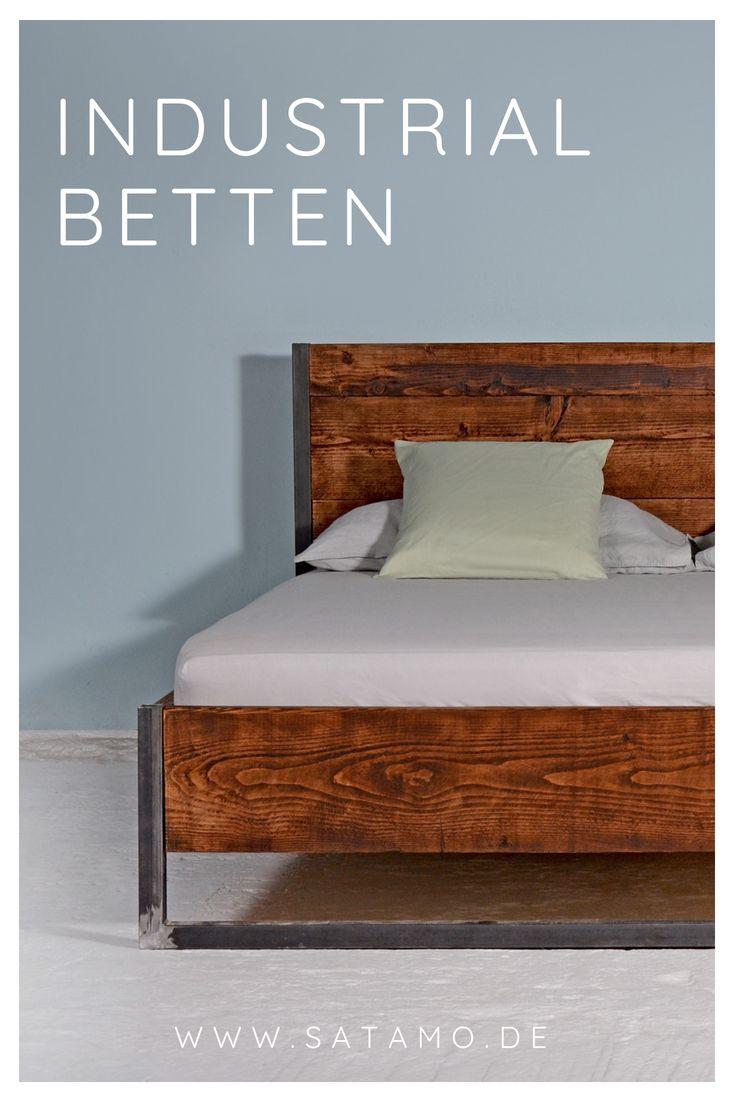 bett industrial design jetzt online entdecken in 2019. Black Bedroom Furniture Sets. Home Design Ideas