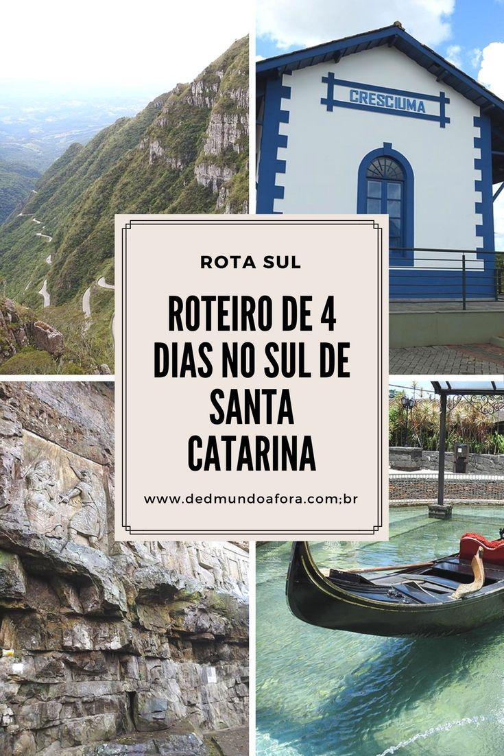 Roteiro de 4 dias no Sul de Santa Catarina