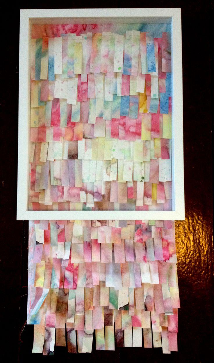 Sanna Vainionpää, Over Flowing, mixed media, 32,5 cm x 68 cm, 2013
