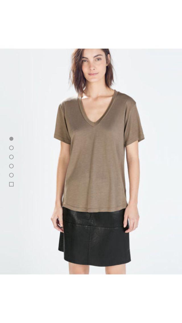 Zara.com #fashion#zara#tshirt