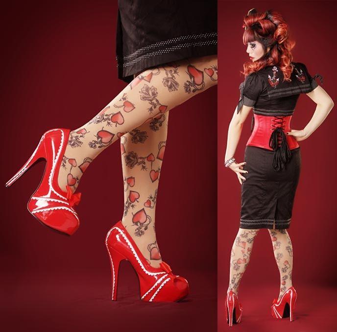 la carmina pirate pin up burlesque retro girl 1940s sailor dress shoes lookbook loves. Black Bedroom Furniture Sets. Home Design Ideas