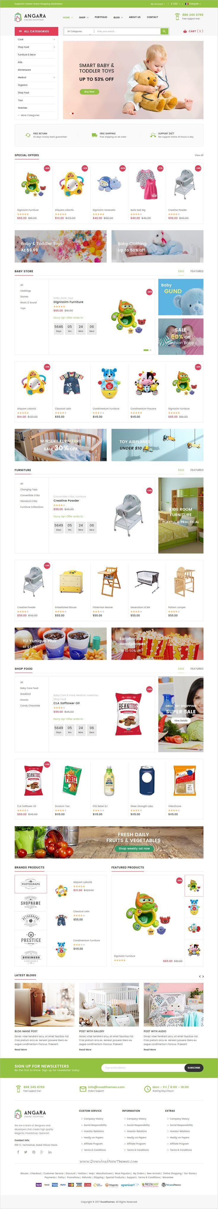 best kids template wordpress images on pinterest