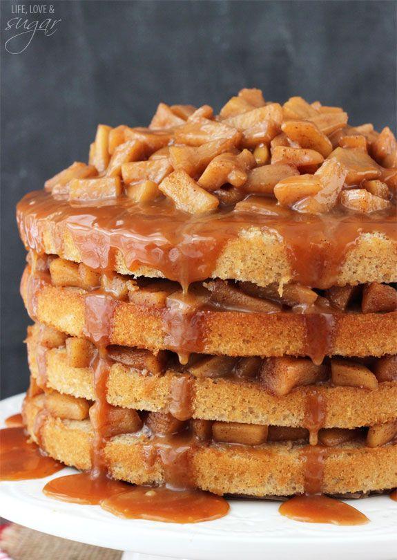 6 layer caramel cake recipe