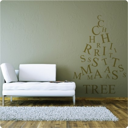 Christmas Tree from The Wall Sticker Company.