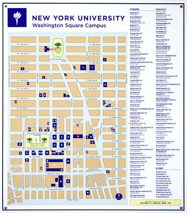 new york university campus map holy crap im gonna need this like crazy
